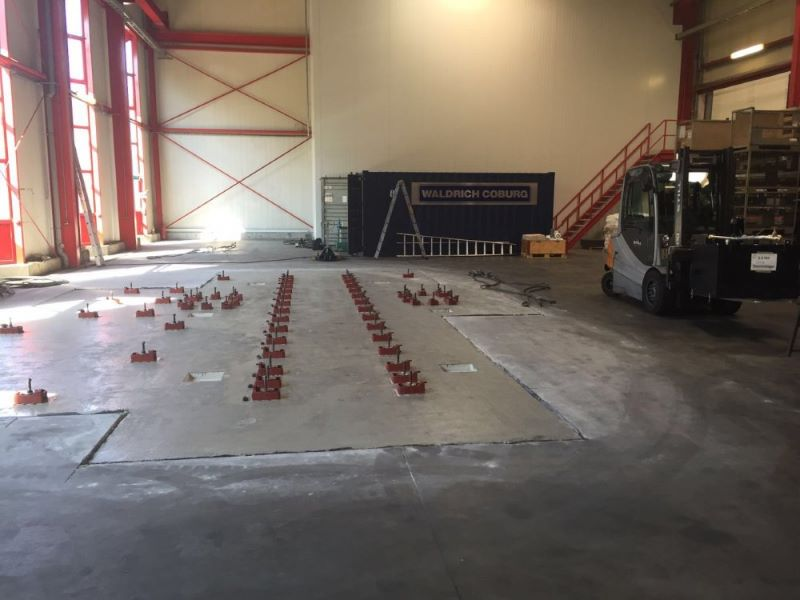 taurus vertical cnc mill installation